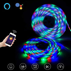 Cina USB 60pcs LED Fleksibel Strip Lights Untuk Dekorasi Pesta, Music Light Strip pemasok